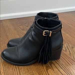 Sam Edelman circus booties with tassel
